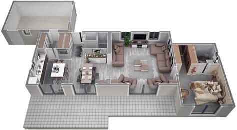amenagement cuisine 10m2 villa contemporaine 115m2 etage modèle iris salon de