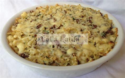 gratin de pates sans bechamel les secrets de cuisine par lalla latifa gratin de p 226 tes mini farfalle et viande hach 233 e de bœuf