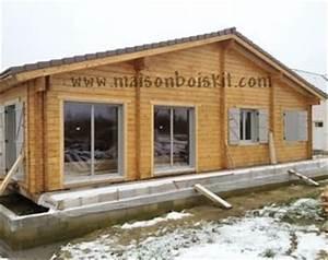 Chalet Bois Pas Cher : photos de chantier de maison en bois en kit ~ Nature-et-papiers.com Idées de Décoration