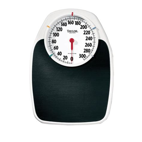 Taylor 1130 Large Platform Analog Bath Scale 330 Lbs From