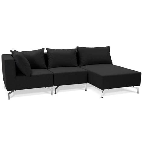 canapé voltaire 3 places canapé d 39 angle voltaire l shape noir canapé modulable