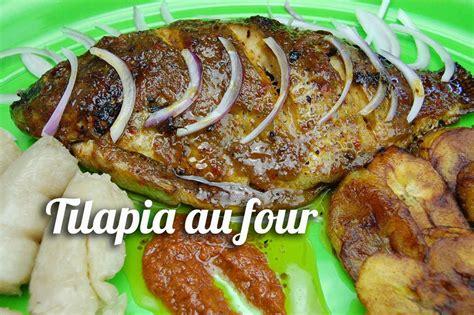 plat cuisiné au four recette de tilapia au four