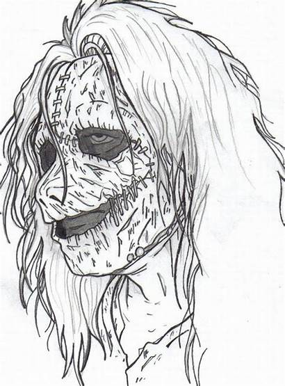 Coloring Pages Adults Printable Advanced Adult Scary