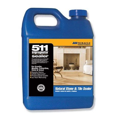 miracle sealants 511 qt sg 511 impregnator penetrating