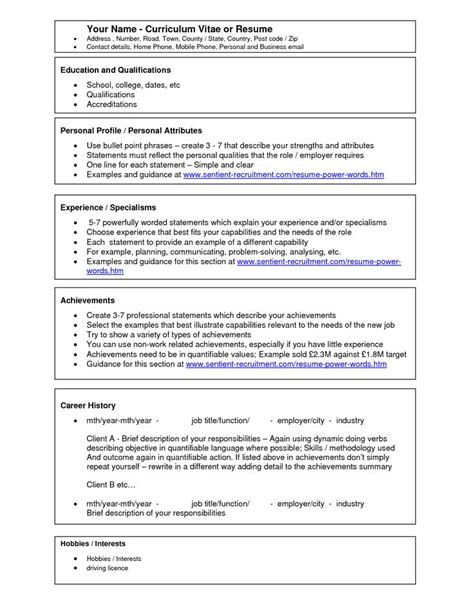 Acting Resume Template For Microsoft Word by 17 Best Ideas About Acting Resume Template On
