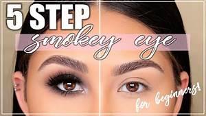 Perfect Smokey Eye in 5 Steps! Smokey Eye Tutorial for Beginners  Roxette Arisa
