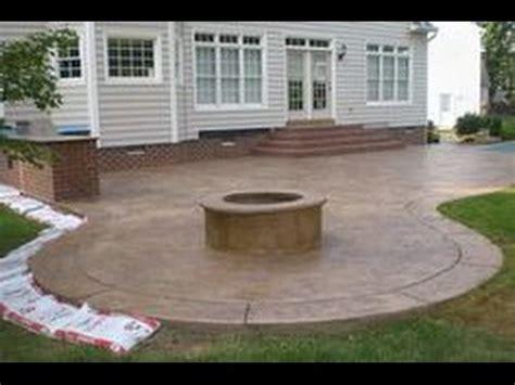Backyard Concrete Ideas by Concrete Patio Ideas Concrete Patio Ideas And Pictures