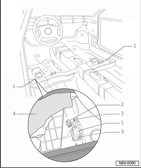 Air Bag Schematic Seat Sensor by Seat Workshop Manuals Gt Mk1 Gt Bodywork Gt Bodywork
