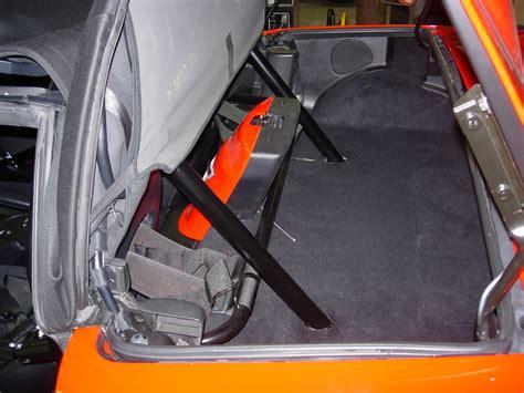 bolt   weld  roll bar  convertible
