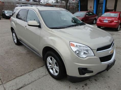 Find Used 2012 12 Chevy Equinox Lt, Rebuilt, Very Low