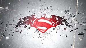 Batman v Superman 2016 Movie Logo HD Wallpaper ...