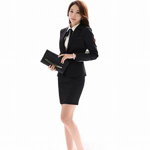 Office Uniform Designs Women Skirt Suit 2018 Costumes for Womens Business Suits Skirts with ...