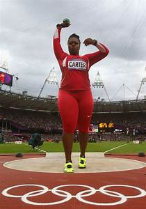 Michelle Carter Photos Photos - Olympics Day 10 ...