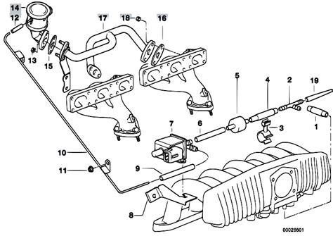 Bmw M52 Engine Diagram by Original Parts For E36 323ti M52 Compact Engine Air