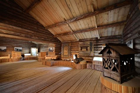 museum  wooden architecture malye korely russia
