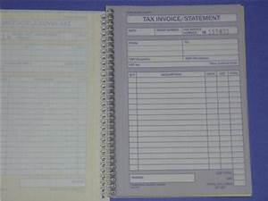 spirax tax invoice statement book no555 no carbon With invoice book target