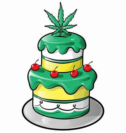 Cake Cartoon Cream Isolated Ice Jamaican Birthday