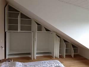 Spiegel Für Dachschräge : einbauschr nke wei lack dachschr ge mit innen schubladen schreinerei rolf sch fer ~ Sanjose-hotels-ca.com Haus und Dekorationen