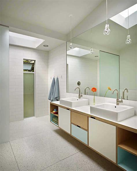 Modern Bathroom by 37 Amazing Mid Century Modern Bathrooms To Soak Your Senses