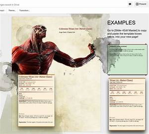 D U0026d 5e Monster Manual Page Template In Google Docs