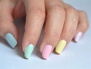 Des Couleurs Pastel : nail art de p ques et prochain passage france 2 demain yoko nail art ~ Voncanada.com Idées de Décoration