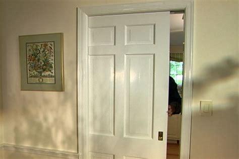 repair  replace  pocket door upgrade  door