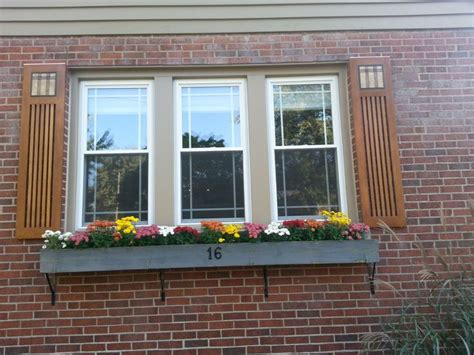 mission style shutters images  pinterest blinds