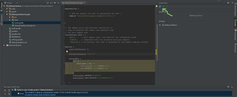 android gradle android importing android gradle projects in