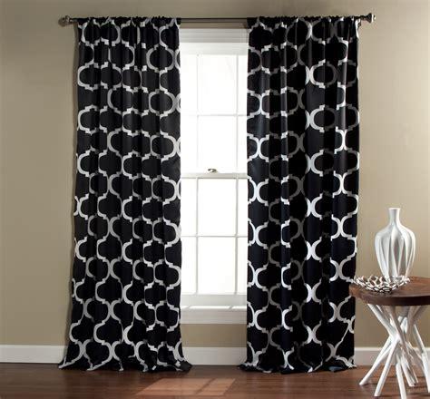 Lush Decor Blackout Curtains by Lush Decor Geo Blackout Window Curtain Pair Shop Your