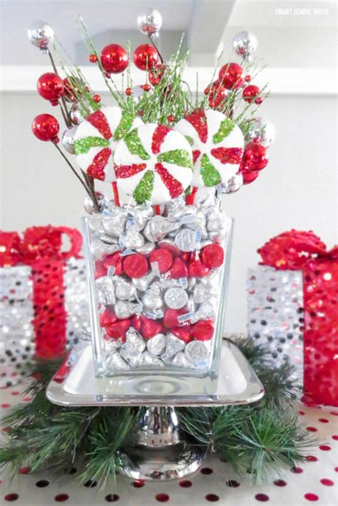 prettiest christmas table centerpiece decoration ideas