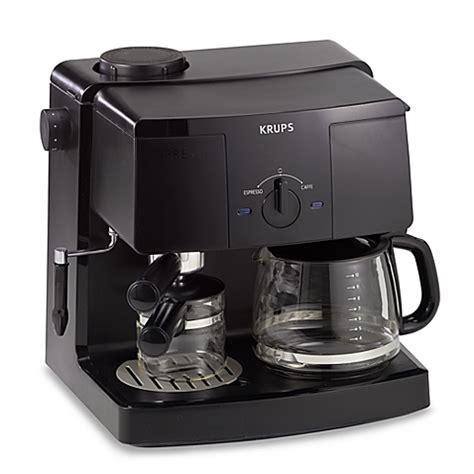 Krups Model XP1500 Espresso Machine and Coffee Maker   Bed Bath & Beyond