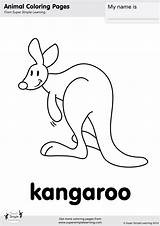 Kangaroo Coloring Zoo Simple Super Worksheets Animal Let Learning Supersimple Esl Flashcards Animals Songs Farm Flashcard Kindergarten Song Supersimplelearning Para sketch template