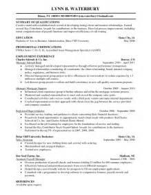 resume summary of qualifications customer service skill resume financial planner resume sle free financial advisor resume exles entry