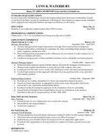 Skill Resume Financial Planner Resume Sample Free