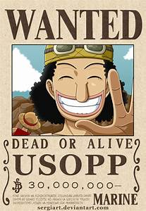 One Piece Wanted Poster Nami