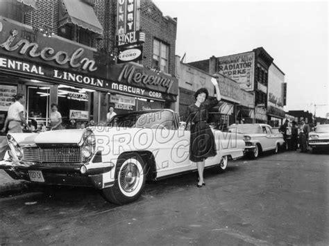 Coney Island Avenue Lincoln Mercury Dealer, 1960 Midwood