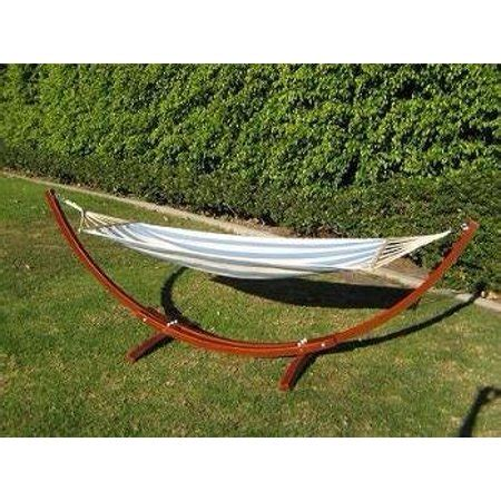 Wooden Hammock by Prosourcefit Wooden Curved Arc Hammock Stand W Hammock