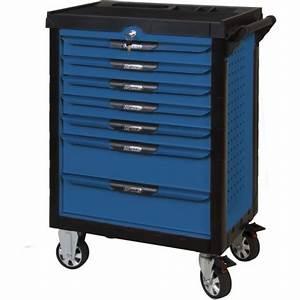 Servante Ks Tools Complete : servante d 39 atelier pearlline 7 tiroirs coloris bleu ks ~ Dailycaller-alerts.com Idées de Décoration