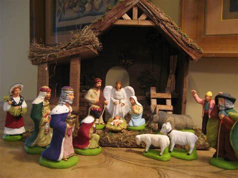 confessions   plate addict  french nativity scene