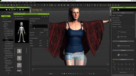 iclone character creator tutorial soft cloth physics