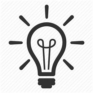 Brainstorming, creativity, idea, light bulb icon   Icon ...