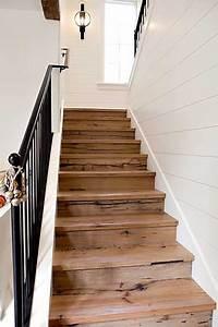 Escalier Droit Bois : relooker un escalier avec des palettes bois escalier ~ Premium-room.com Idées de Décoration