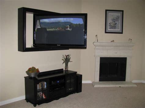 Black Opt1 (wall Mounted) Tv Frame/ Articulating Tv Mount