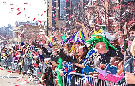Soulard Mardi Gras 2017 In Saint Louis, Mo