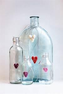 Basteln Mit Glasflaschen : mit kindern herbstdeko basteln meine ~ Watch28wear.com Haus und Dekorationen