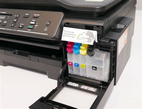 Printer Dcp T500w Black jual printer dcp t500w all in one ink tank