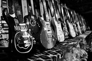 grunge, guitars, music, nirvana, photography - image ...