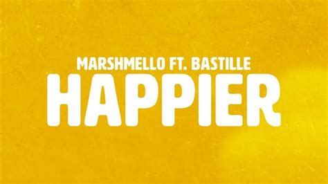 Happier (official Lyric Video