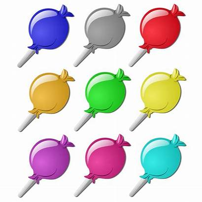Marbles Clip Candies Candy Clipart Tag Crushes