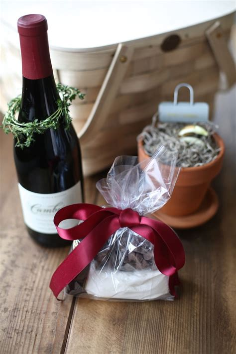 wine chocolate gift basket  lava cake gift mix